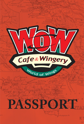 Custom Corporate design for Wow Wing Restaurant