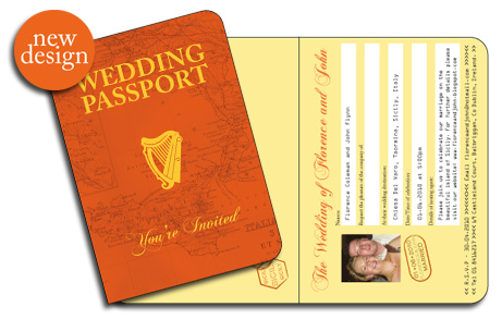 Irish Passport Invitation