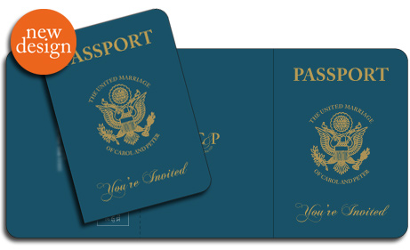 US Passport Invitation