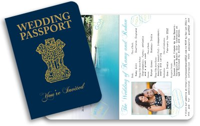 Indian Passport Invitation