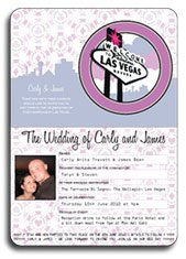 Las Vegas Wedding Passport