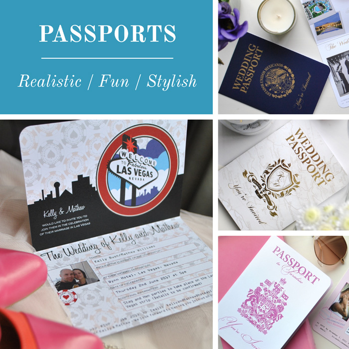 Destination Stationery Passports