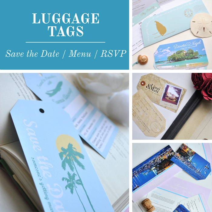 Destination Stationery Luggage Tags