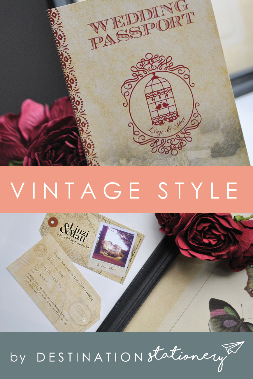 Vintage style perfect if you're planning a retro themed wedding or looking to add some nostalgic flair to your celebrations