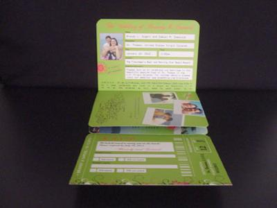 Personalised information including passport picture
