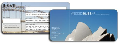 Opera House Airline Ticket